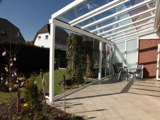 Berühmt Glas oder Stegplatten für die Terrassenüberdachung? IE83