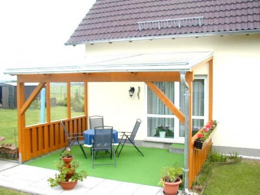 Welches Material für das Terrassendach-Tragsystem